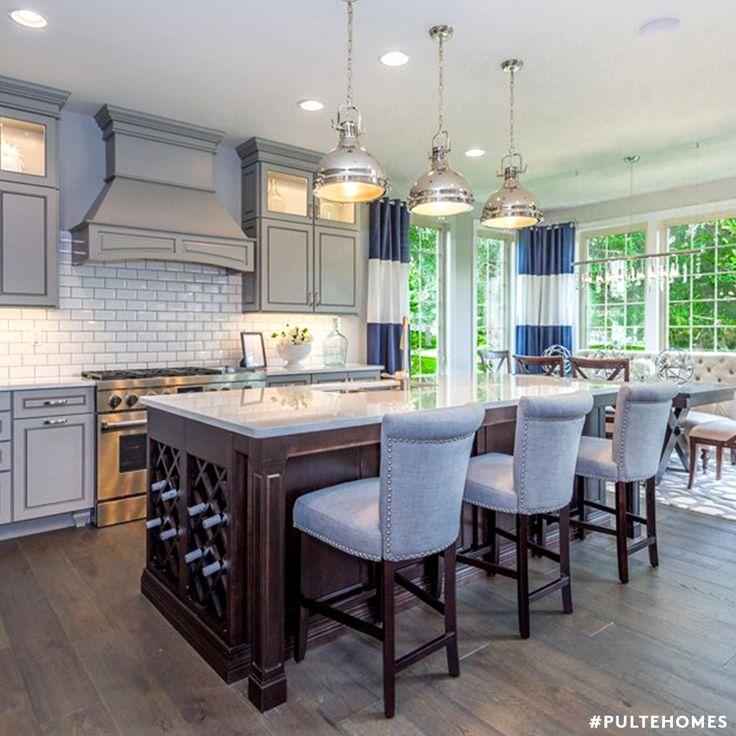 97 best kitchen designs images on pinterest | pulte homes, kitchen