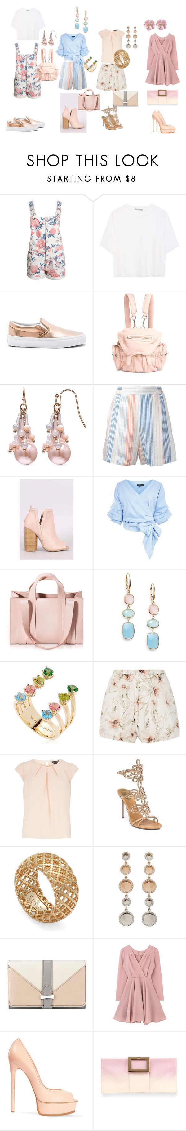 """""""Spring Fashion 2017 11"""" by anna-mar ❤ liked on Polyvore featuring Vince, Vans, Alexander Wang, STELLA McCARTNEY, Qupid, Corto Moltedo, Saks Fifth Avenue, Delfina Delettrez, Haute Hippie and Dorothy Perkins"""