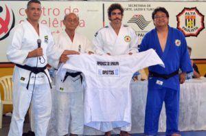 #Esportes: Ator global participa do tradicional treinamento de judô em Bastos