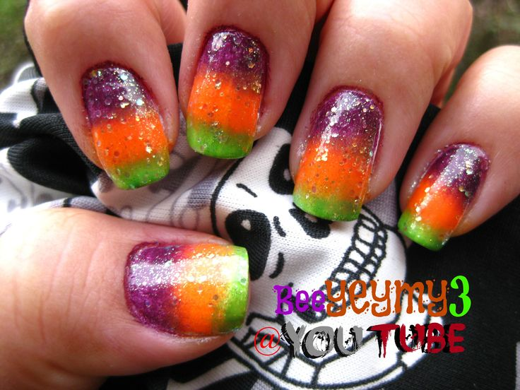 halloween nail art facebook