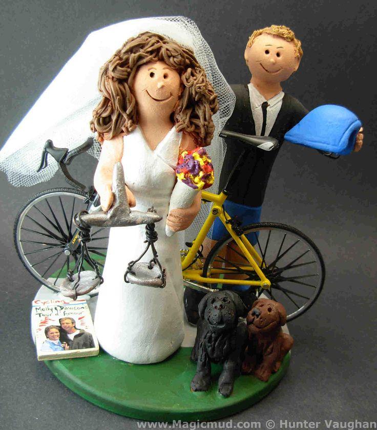 Lawyer Bride Wedding Cake Topper by http://www.magicmud.com   1 800 231 9814  magicmud@magicmud.com  http://blog.magicmud.com  https://twitter.com/caketoppers         https://www.facebook.com/PersonalizedWeddingCakeToppers  #bicycle#bike#cyclist#mountain_bike#wedding #cake #toppers  #custom #personalized #Groom #bride #anniversary #birthday#weddingcaketoppers#cake toppers#figurine#gift#wedding cake toppers