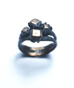 Double Band Cluster Ring - Rex Royale - Wellington and New Zealand designer fashion clothing jewellery art women's cuba st boutique