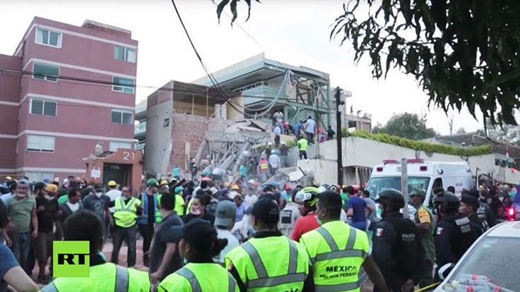 ICYMI: Las obras ilegales en un colegio de México podrían ser la causa de su derrumbe durante el terremoto