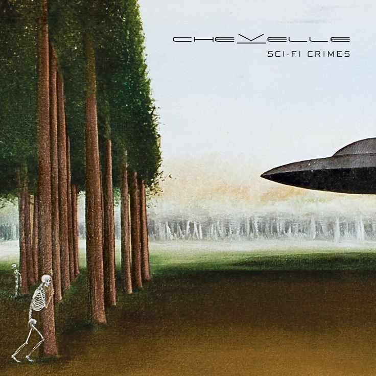 One of the best bands has the best album cover. Chevelle, Sci-fi Crimes