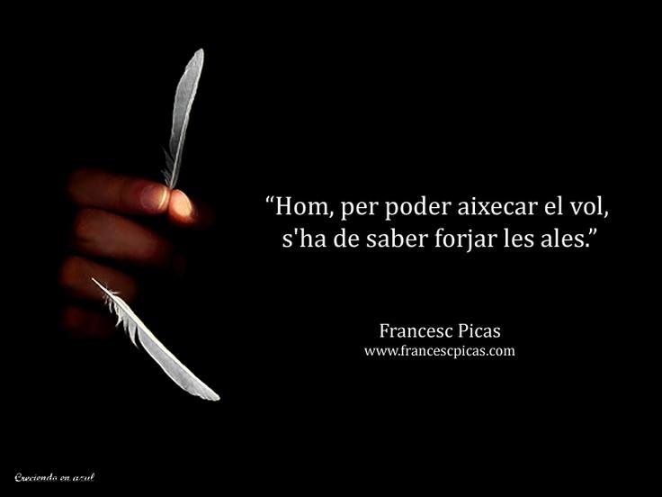 Francesc Picas ©  Frase catalán.