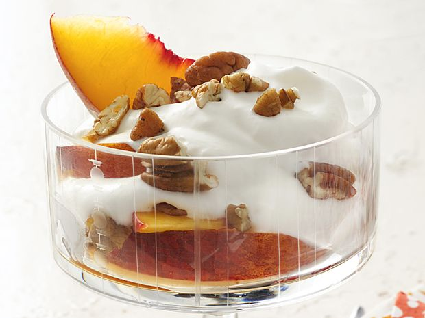 Boozy Peaches and Cream Recipe : Food Network Kitchen : Food Network - FoodNetwork.com
