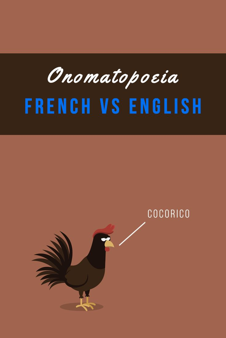 Did you know that in French the sound of a snore is called ron-pshi, a duck's quack is coin-coin, and a baby's cry is called ouin-ouin? See more French onomatopoeia in this article and don't forget to download the longer list in PDF! :) https://www.talkinfrench.com/french-onomatopoeia/