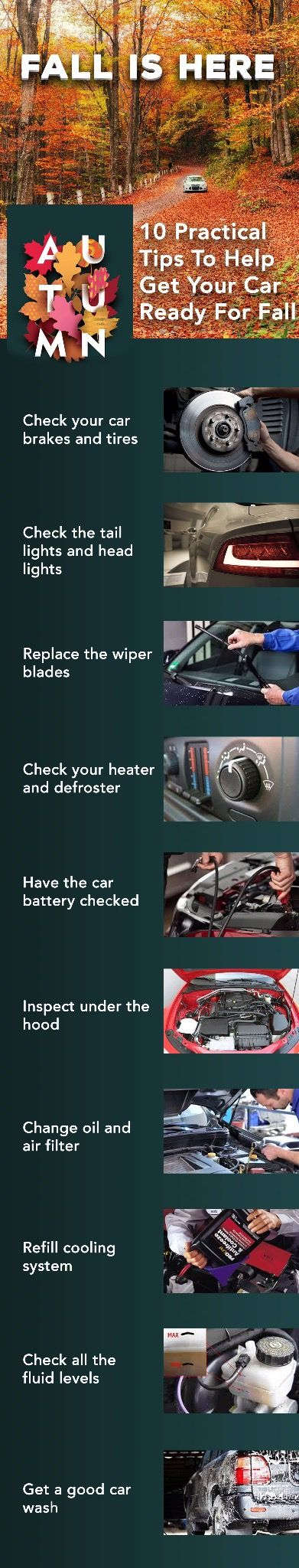 10 practical tips to help get your car ready for fall infographic carhelp