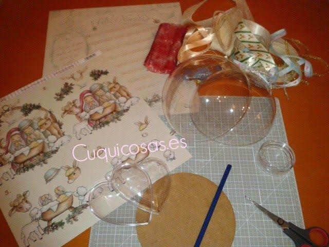 C mo decorar bolas de navidad con papel de scrapbooking - Como decorar bolas de navidad ...