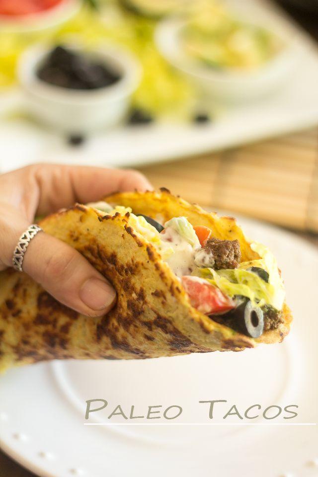 Tacos paleo de coliflor.