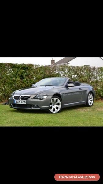Bmw 645 convertible M sport 4.4 V8 #bmw #645 #forsale #unitedkingdom