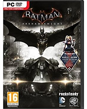 Warner Bros Interactive Entertainment Limited Batman: Arkham Knight (PC DVD) No description (Barcode EAN = 5051892170529). http://www.comparestoreprices.co.uk//warner-bros-interactive-entertainment-limited-batman arkham-knight-pc-dvd-.asp