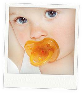 Hevea baby pacifier