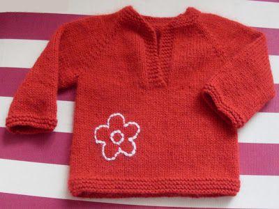 pulover mix | Mademoiselle et le tricot