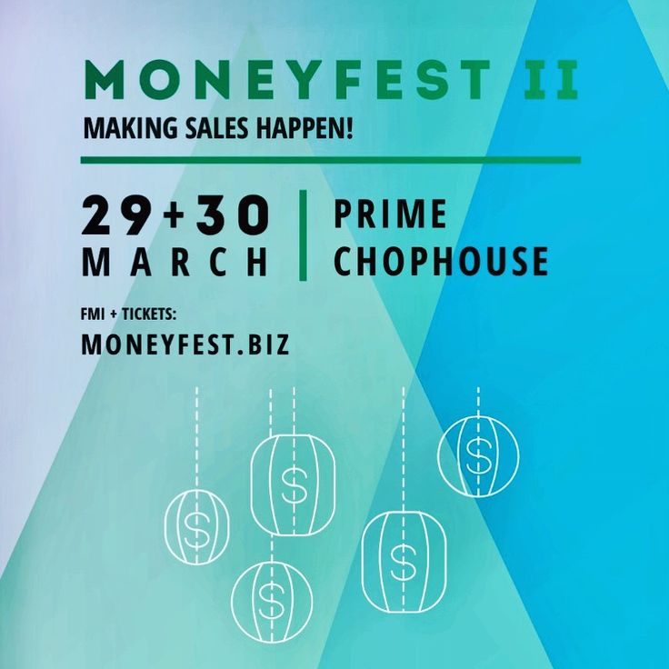 We're giving away free tickets to MONEYFest2!