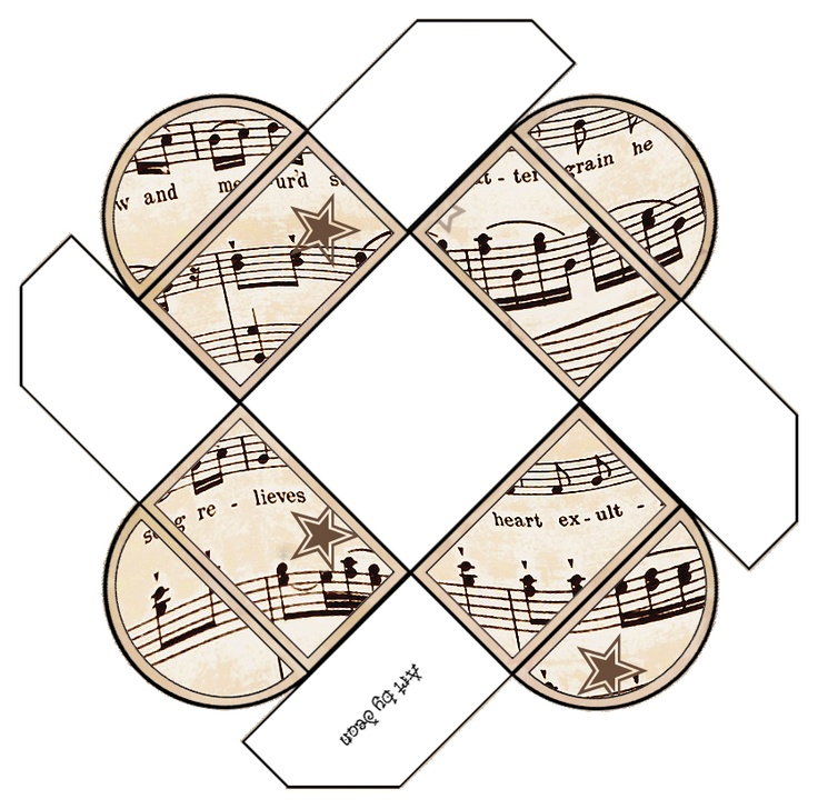 ArtbyJean - Vintage Sheet Music: Set 003 - Vintage Sheet Music Free Clipart…