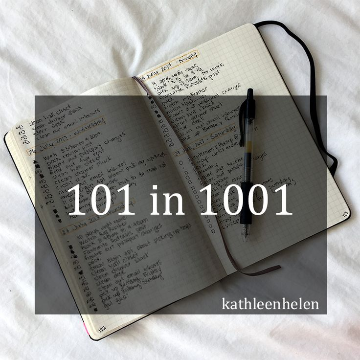 101 things in 1001 days - January 2018 Update | kathleenhelen