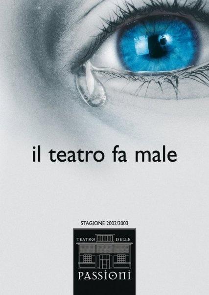 il teatro fa male
