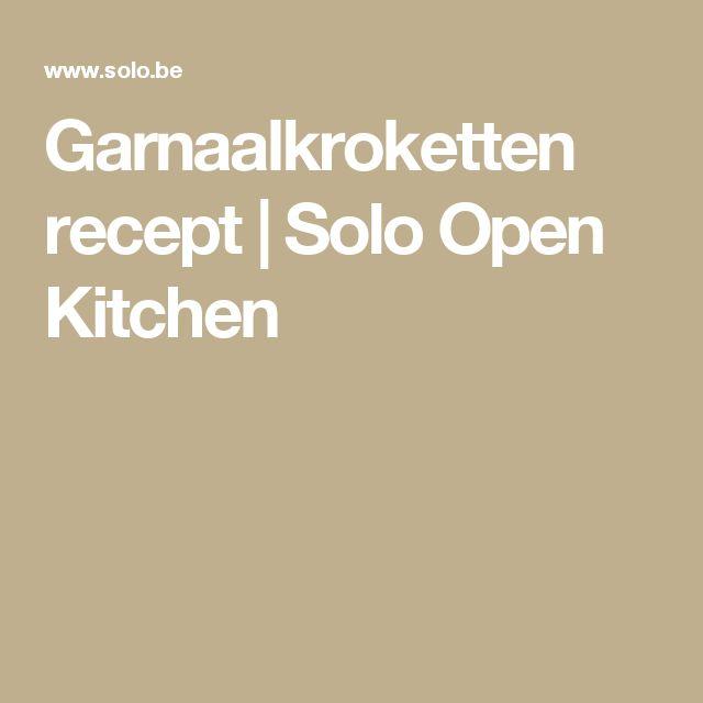 Garnaalkroketten recept   Solo Open Kitchen