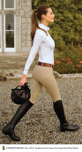 tredstep-azzura-breech and sport top find at  thewhitehorsecompany.co.uk