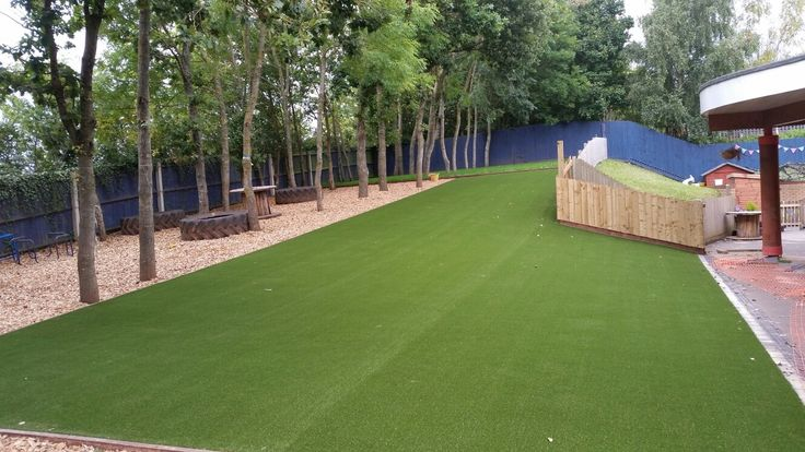 Commercial Projects need synthetic turf to help maximise the use of their outdoor space all year round.