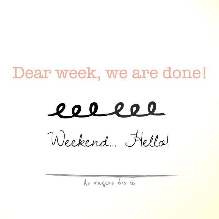 Weekend mood