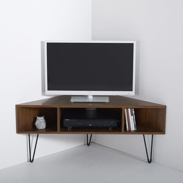 Meuble Tv D Angle Vintage Watford La Redoute Interieurs Prix Avis Notation Livraison Meuble Tv D Angle Corner Tv Unit Corner Tv Stands Living Room Tv