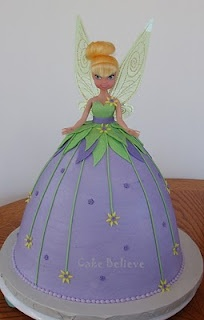 Tinkerbell doll cake. I could do that...I think.