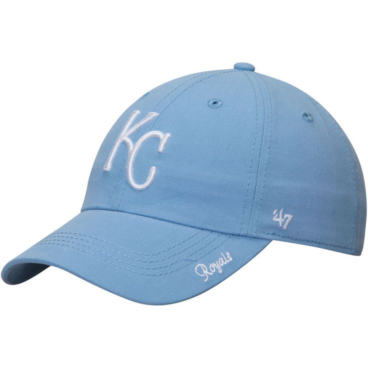 Kansas City Royals '47 Women's Miata Clean Up Adjustable Hat - Light Blue
