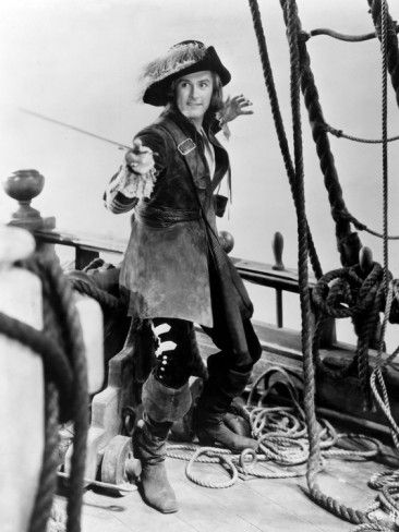 Captain Blood, Errol Flynn, 1935