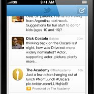 Of the three big social networks (Twitter, Facebook and LinkedIn), Twitter is the only one that has always been mobile friendly. As they all move into mobile advertising, will Twitter's mobile heritage trump Facebook's size? http://bit.ly/AA1otN