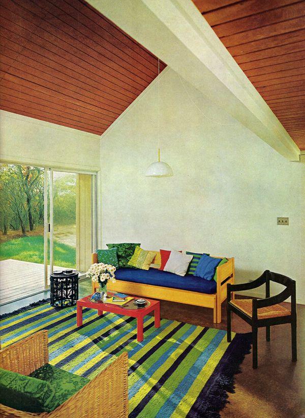 House garden s complete guide to interior decoration for Garden design 1970s