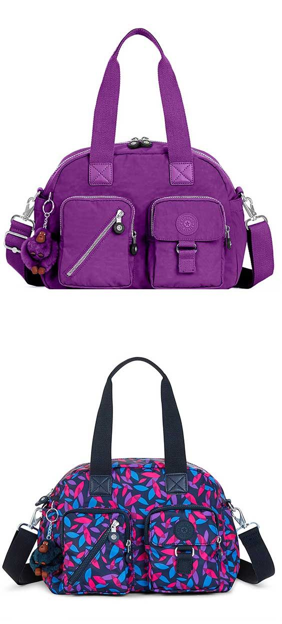 Kipling Defea Crossbody Bag - Best Travel Top-Handle Shoulder Bag #Kipling #Top-Handle #Bag #Tote #ShoulderBag #Crossbody #Travel #Purple