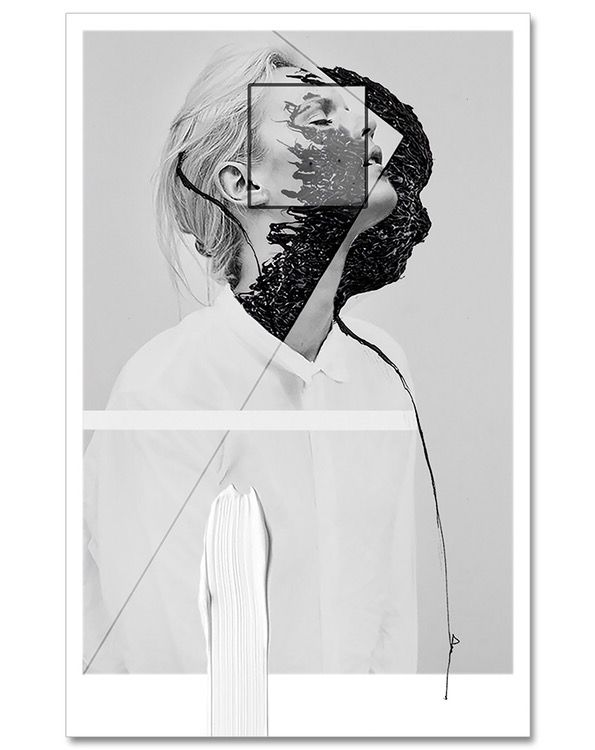 ➖ Other Half ➖    78 H x 50 W x 0.3 cm  Digital manipulated photo collage, printed with pigment inks on Hahnemühle Fine Art paper - now available: www.katharinapurkarthofer.com