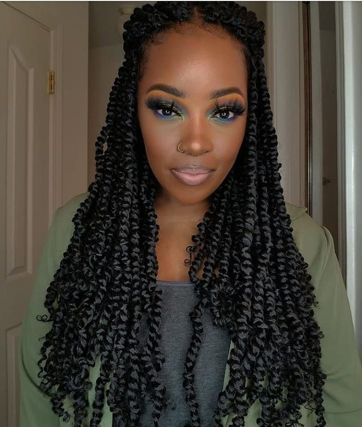 Passion Twist Twist Hairstyles Braid In Hair Extensions