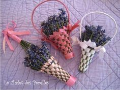 how to weave lavender basket - Google Search
