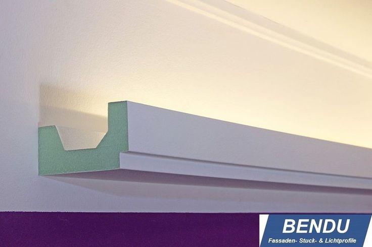 BENDU LED Stuckleiste Lichtprofile indirekte Beleuchtung Stuckprofile Hartschaum in Möbel & Wohnen, Beleuchtung, Wandleuchten | eBay!