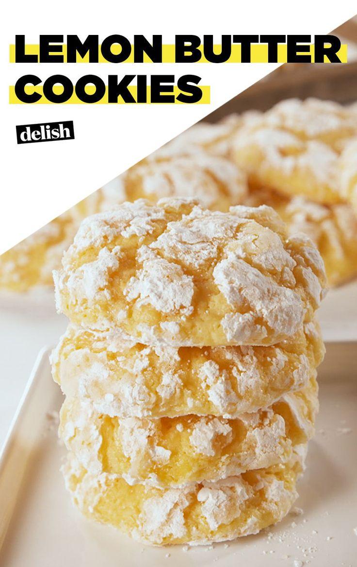 Lemon Butter Cookies Will Light Up Your DayDelish