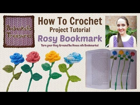 Ring Around the Rosy Bookmark ~ Crochet Tutorial - YouTube