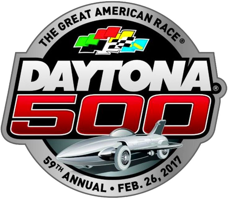 Daytona 500 Primary Logo (2017) - 2017 59th Annual Daytona 500 Logo