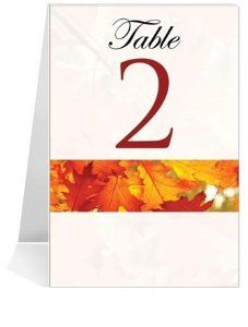 Wedding Table Number Cards - Autumn Morning Fresh #1 Thru #34 by WeddingPaperMasters.com. $81.60. Now you can have it all! We have created, at incredible prices & outstanding quality, more than 300 gorgeous collections consisting of over 6000 beautiful pieces that are perfectly coordinated together to capture your vision without compromise. No more mixing and matching or having to compromise your look. We can provide you with one piece or an entire collection in a o...