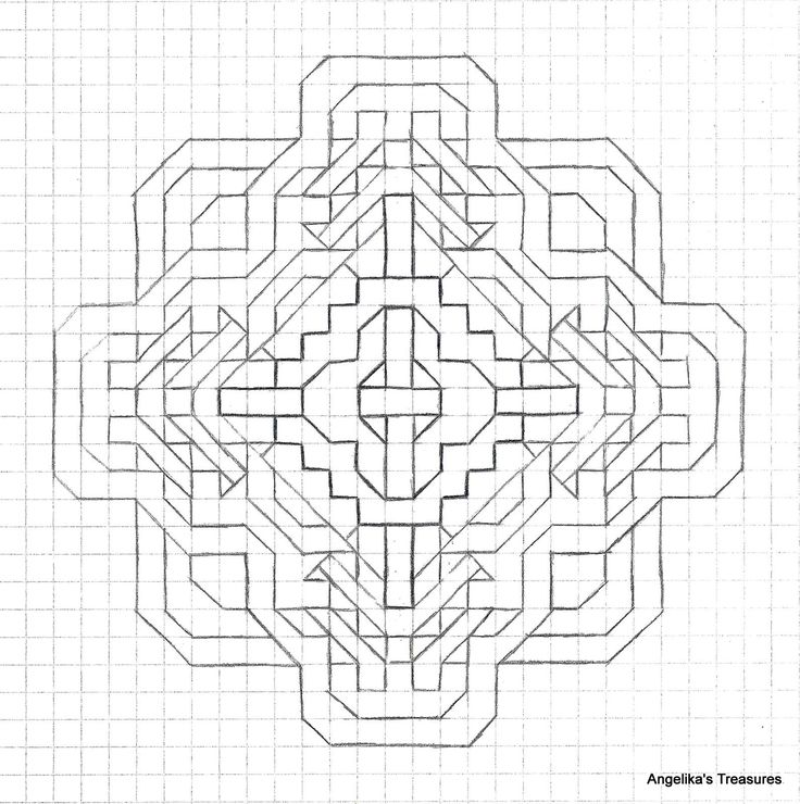 Best 25+ Graph paper art ideas on Pinterest | Zen doodle patterns ...