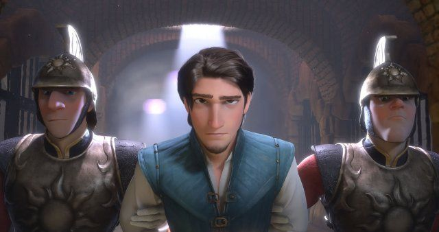 *CAPTAIN of the GUARDS & FLYNN RIDER ~ Tangled, 2010