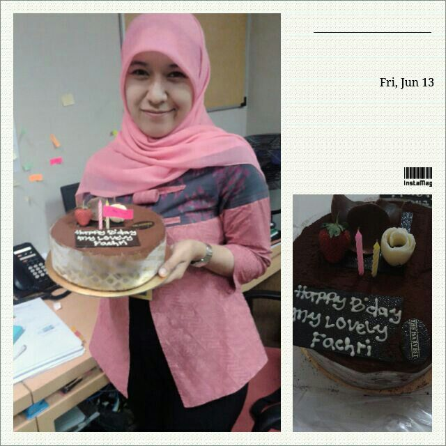 B'day surprise