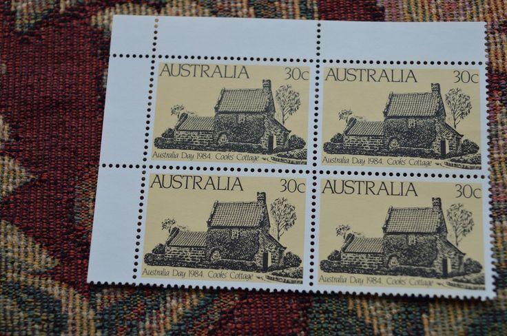 1984 AU 30c Australia day corner block of four MUH | eBay