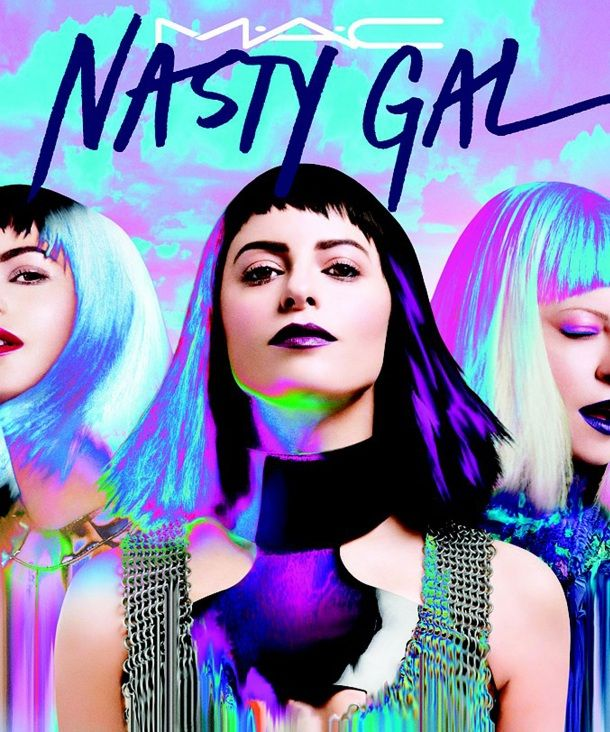 Nasty Gal Continues Toward World Domination With New MAC Collab
