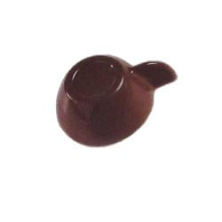Polycarbonate Chocolate Mold Cup 91x71mm x 34mm High, 3 Cavities