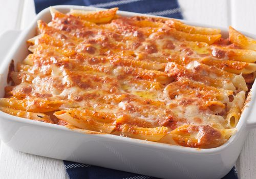 Baked penne • Quick and easy - and an absolute treat for your taste-buds.