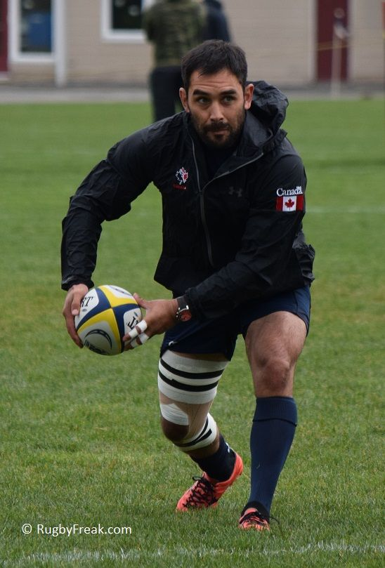 Team Canada's XV Captain Phil Mack practicing before a game with his club team, JBAA in Victoria BC #rugbyfreak #sofreaky #bcrugby #philmack #mackattack #JBAA