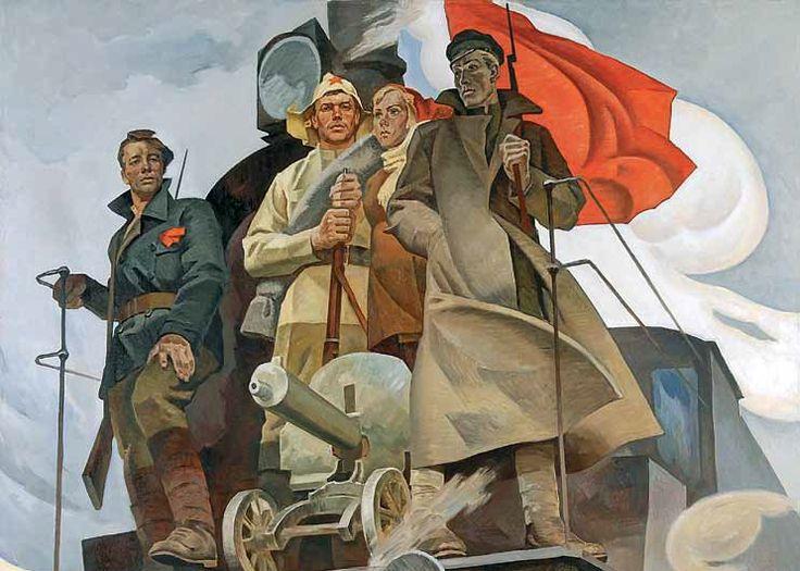 Револьд Барышников. Наш паровоз. 1972